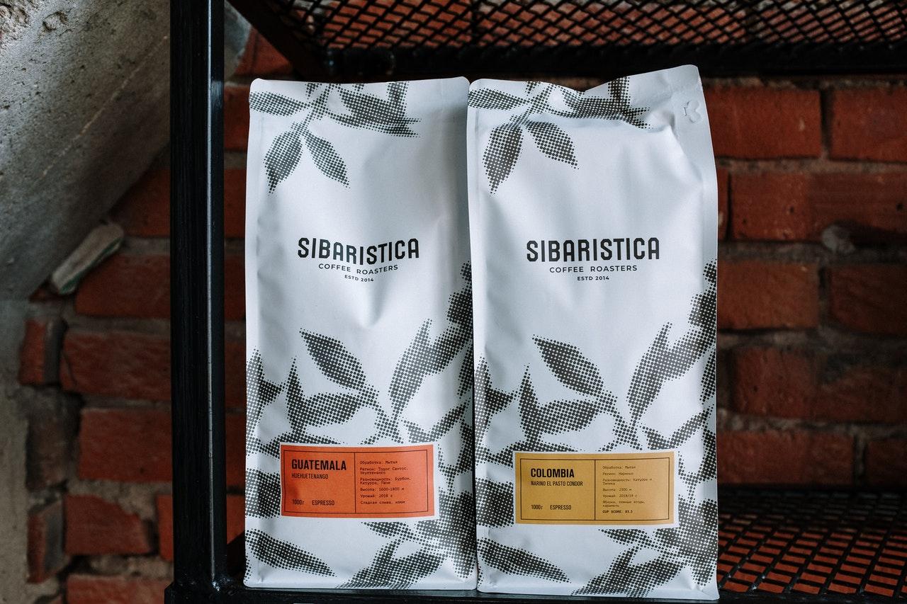 Kaffee vakuumverpackt