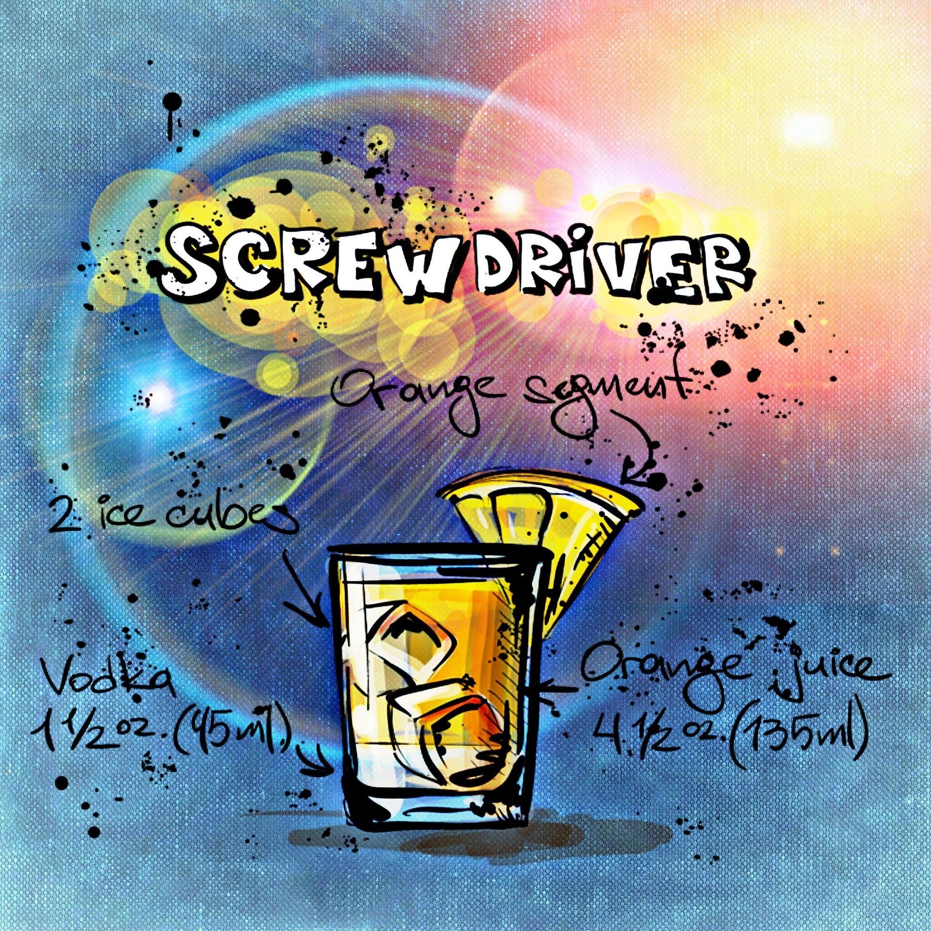 ScrewDriver Rezept